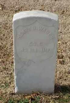 WAGER (VETERAN UNION), HENRY B - Pulaski County, Arkansas   HENRY B WAGER (VETERAN UNION) - Arkansas Gravestone Photos