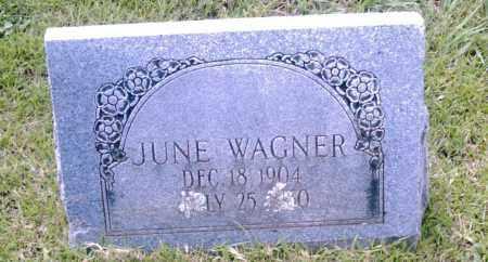 WAGNER, JUNE - Pulaski County, Arkansas | JUNE WAGNER - Arkansas Gravestone Photos