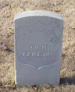 WAGNER (VETERAN UNION), PHILIP C - Pulaski County, Arkansas | PHILIP C WAGNER (VETERAN UNION) - Arkansas Gravestone Photos