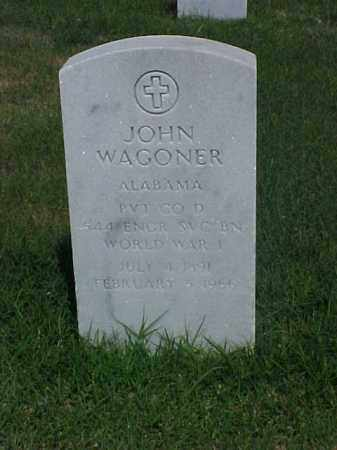 WAGONER (VETERAN WWI), JOHN - Pulaski County, Arkansas | JOHN WAGONER (VETERAN WWI) - Arkansas Gravestone Photos