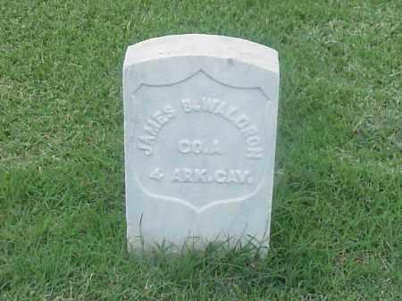 WALDRON (VETERAN UNION), JAMES B - Pulaski County, Arkansas   JAMES B WALDRON (VETERAN UNION) - Arkansas Gravestone Photos