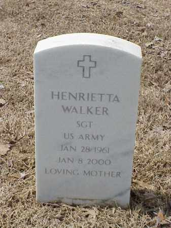 WALKER  (VETERAN), HENRIETTA - Pulaski County, Arkansas | HENRIETTA WALKER  (VETERAN) - Arkansas Gravestone Photos