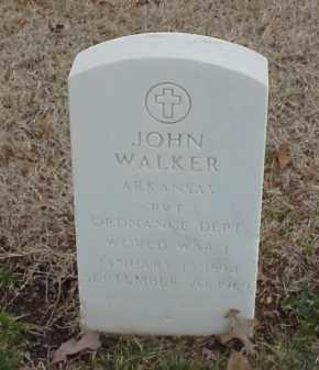 WALKER  (VETERAN WWI), JOHN - Pulaski County, Arkansas   JOHN WALKER  (VETERAN WWI) - Arkansas Gravestone Photos