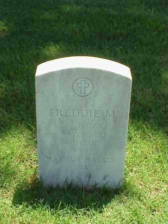 WALKER, FREDDIE M - Pulaski County, Arkansas | FREDDIE M WALKER - Arkansas Gravestone Photos