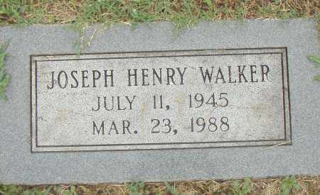 WALKER, JOSEPH HENRY - Pulaski County, Arkansas | JOSEPH HENRY WALKER - Arkansas Gravestone Photos