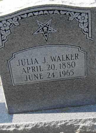 WALKER, JULIA J - Pulaski County, Arkansas | JULIA J WALKER - Arkansas Gravestone Photos