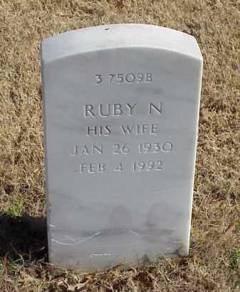 WALKER, RUBY N - Pulaski County, Arkansas | RUBY N WALKER - Arkansas Gravestone Photos