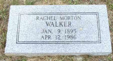 MORTON WALKER, RACHEL - Pulaski County, Arkansas | RACHEL MORTON WALKER - Arkansas Gravestone Photos