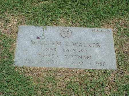 WALKER (VETERAN 2 WARS), WILLIAM E - Pulaski County, Arkansas | WILLIAM E WALKER (VETERAN 2 WARS) - Arkansas Gravestone Photos