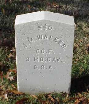WALKER (VETERAN CSA), J M - Pulaski County, Arkansas | J M WALKER (VETERAN CSA) - Arkansas Gravestone Photos