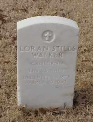 WALKER (VETERAN SAW), LORAN STILES - Pulaski County, Arkansas   LORAN STILES WALKER (VETERAN SAW) - Arkansas Gravestone Photos