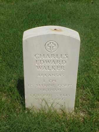 WALKER (VETERAN VIET), CHARLES EDWARD - Pulaski County, Arkansas   CHARLES EDWARD WALKER (VETERAN VIET) - Arkansas Gravestone Photos
