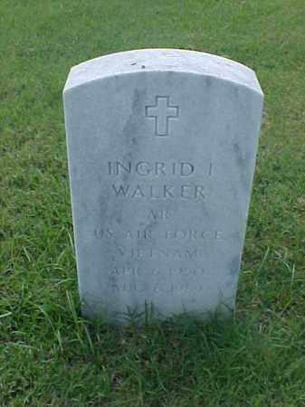 WALKER (VETERAN VIET), INGRID I - Pulaski County, Arkansas | INGRID I WALKER (VETERAN VIET) - Arkansas Gravestone Photos
