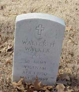 WALKER (VETERAN VIET), WALTER H - Pulaski County, Arkansas   WALTER H WALKER (VETERAN VIET) - Arkansas Gravestone Photos