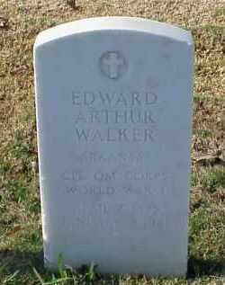 WALKER (VETERAN WWI), EDWARD ARTHUR - Pulaski County, Arkansas | EDWARD ARTHUR WALKER (VETERAN WWI) - Arkansas Gravestone Photos