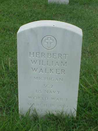 WALKER (VETERAN WWI), HERBERT WILLIAM - Pulaski County, Arkansas | HERBERT WILLIAM WALKER (VETERAN WWI) - Arkansas Gravestone Photos