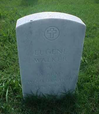 WALKER (VETERAN WWII), EUGENE - Pulaski County, Arkansas | EUGENE WALKER (VETERAN WWII) - Arkansas Gravestone Photos