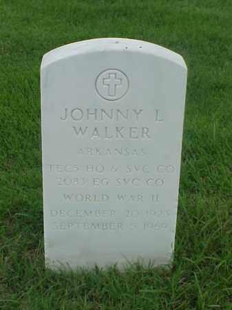 WALKER (VETERAN WWII), JOHNNY L - Pulaski County, Arkansas | JOHNNY L WALKER (VETERAN WWII) - Arkansas Gravestone Photos