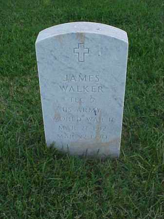 WALKER (VETERAN WWII), JAMES - Pulaski County, Arkansas | JAMES WALKER (VETERAN WWII) - Arkansas Gravestone Photos
