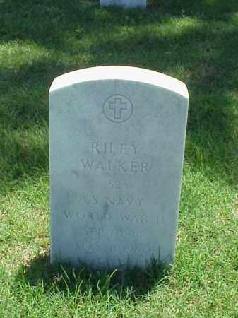 WALKER (VETERAN WWII), RILEY - Pulaski County, Arkansas | RILEY WALKER (VETERAN WWII) - Arkansas Gravestone Photos