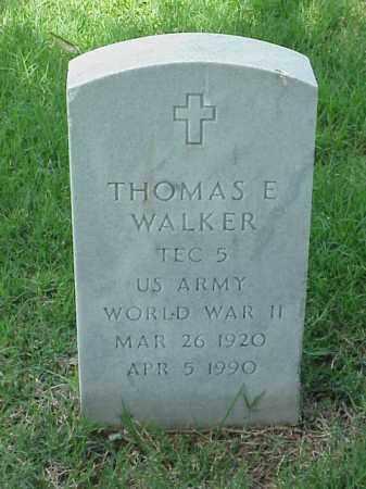WALKER (VETERAN WWII), THOMAS E - Pulaski County, Arkansas   THOMAS E WALKER (VETERAN WWII) - Arkansas Gravestone Photos