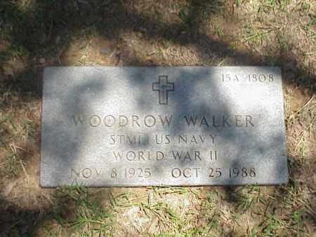 WALKER (VETERAN WWII), WOODROW - Pulaski County, Arkansas | WOODROW WALKER (VETERAN WWII) - Arkansas Gravestone Photos