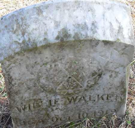 WALKER, WILLIE - Pulaski County, Arkansas | WILLIE WALKER - Arkansas Gravestone Photos