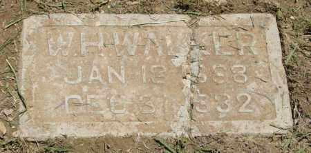WALKER, W. H. - Pulaski County, Arkansas | W. H. WALKER - Arkansas Gravestone Photos