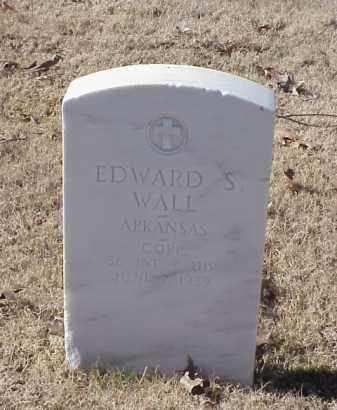 WALL (VETERAN WWI), EDWARD S - Pulaski County, Arkansas | EDWARD S WALL (VETERAN WWI) - Arkansas Gravestone Photos