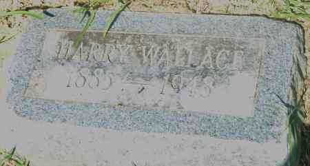WALLACE, HARRY - Pulaski County, Arkansas | HARRY WALLACE - Arkansas Gravestone Photos