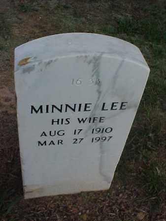 WALLACE, MINNIE LEE - Pulaski County, Arkansas | MINNIE LEE WALLACE - Arkansas Gravestone Photos