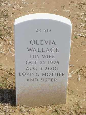 WALLACE, OLEVIA - Pulaski County, Arkansas | OLEVIA WALLACE - Arkansas Gravestone Photos