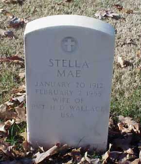 WALLACE, STELLA MAE - Pulaski County, Arkansas | STELLA MAE WALLACE - Arkansas Gravestone Photos