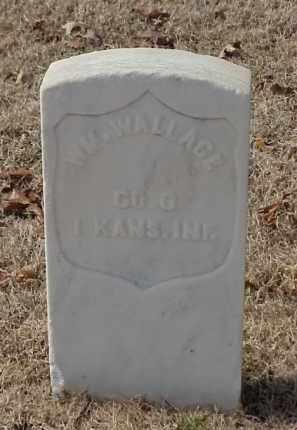 WALLACE (VETERAN UNION), WILLIAM - Pulaski County, Arkansas | WILLIAM WALLACE (VETERAN UNION) - Arkansas Gravestone Photos