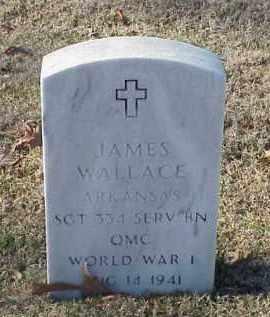 WALLACE (VETERAN WWI), JAMES - Pulaski County, Arkansas | JAMES WALLACE (VETERAN WWI) - Arkansas Gravestone Photos