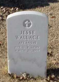 WALLACE (VETERAN WWI), JESSE - Pulaski County, Arkansas   JESSE WALLACE (VETERAN WWI) - Arkansas Gravestone Photos