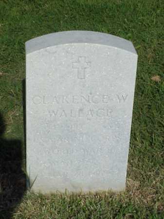 WALLACE (VETERAN WWII), CLARENCE W - Pulaski County, Arkansas | CLARENCE W WALLACE (VETERAN WWII) - Arkansas Gravestone Photos
