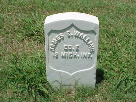WALLING (VETERAN UNION), JAMES E - Pulaski County, Arkansas | JAMES E WALLING (VETERAN UNION) - Arkansas Gravestone Photos