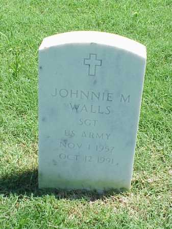 WALLS (VETERAN), JOHNNIE M - Pulaski County, Arkansas | JOHNNIE M WALLS (VETERAN) - Arkansas Gravestone Photos