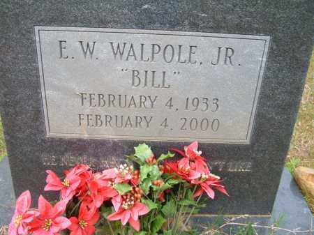 WALPOLE, E.W. JR  (BILL) - Pulaski County, Arkansas | E.W. JR  (BILL) WALPOLE - Arkansas Gravestone Photos