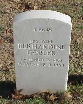 WALTER, BERHARDINE - Pulaski County, Arkansas | BERHARDINE WALTER - Arkansas Gravestone Photos