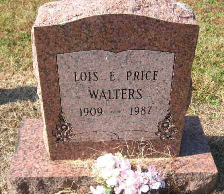 PRICE WALTERS, LOIS E. - Pulaski County, Arkansas   LOIS E. PRICE WALTERS - Arkansas Gravestone Photos