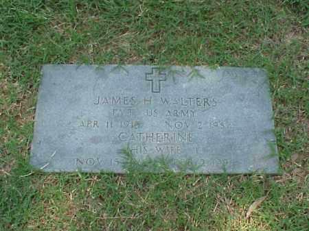 WALTERS (VETERAN WWII), JAMES H - Pulaski County, Arkansas   JAMES H WALTERS (VETERAN WWII) - Arkansas Gravestone Photos