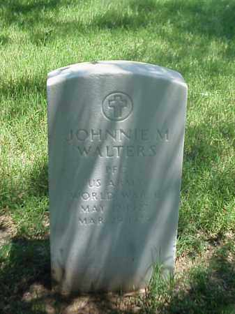 WALTERS (VETERAN WWII), JOHNNIE M - Pulaski County, Arkansas   JOHNNIE M WALTERS (VETERAN WWII) - Arkansas Gravestone Photos