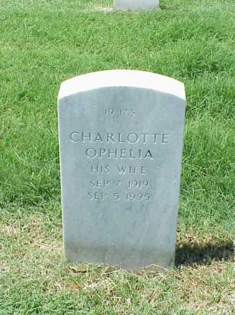 WALTON, CHARLOTTE OPHELIA - Pulaski County, Arkansas | CHARLOTTE OPHELIA WALTON - Arkansas Gravestone Photos