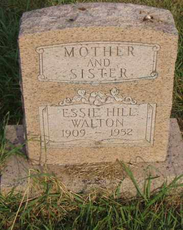 HILL WALTON, ESSIE - Pulaski County, Arkansas | ESSIE HILL WALTON - Arkansas Gravestone Photos