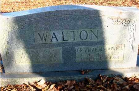 WALTON, ORA MAE - Pulaski County, Arkansas   ORA MAE WALTON - Arkansas Gravestone Photos