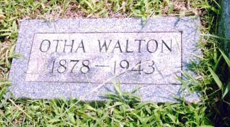 WALTON, OTHA - Pulaski County, Arkansas   OTHA WALTON - Arkansas Gravestone Photos