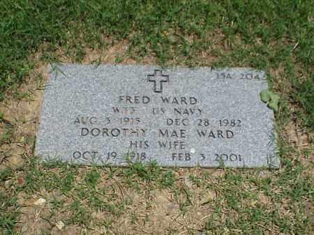 WARD, DOROTHY MAE - Pulaski County, Arkansas | DOROTHY MAE WARD - Arkansas Gravestone Photos