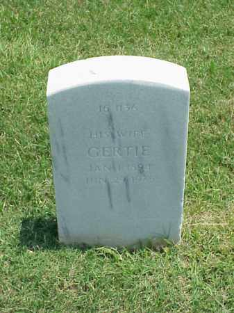 WARD, GERTIE - Pulaski County, Arkansas | GERTIE WARD - Arkansas Gravestone Photos